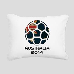 Australia World Cup 2014 Rectangular Canvas Pillow