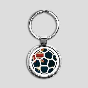 Australia World Cup 2014 Round Keychain