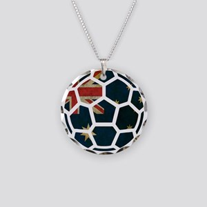 Australia World Cup 2014 Necklace Circle Charm