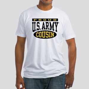 Proud U.S. Army Cousin Fitted T-Shirt