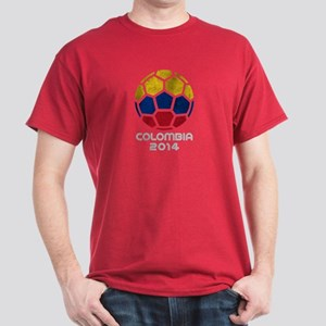 Colombia World Cup 2014 Dark T-Shirt