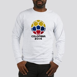 Colombia World Cup 2014 Long Sleeve T-Shirt