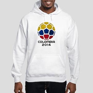 Colombia World Cup 2014 Hooded Sweatshirt