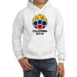 Colombia World Cup 2014 Hooded Sweatshirt