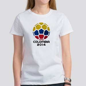 Colombia World Cup 2014 Women's T-Shirt