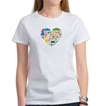 Colombia World Cup 2014 Heart Women's T-Shirt