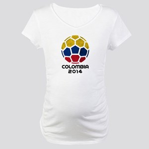 Colombia World Cup 2014 Maternity T-Shirt