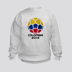 Colombia World Cup 2014 Kids Sweatshirt