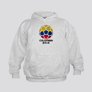 Colombia World Cup 2014 Kids Hoodie