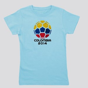 Colombia World Cup 2014 Girl's Tee