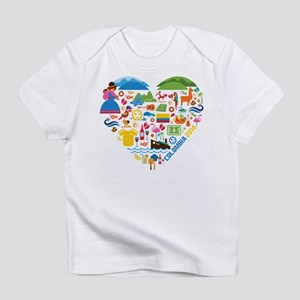 Colombia World Cup 2014 Heart Infant T-Shirt