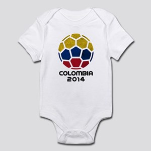Colombia World Cup 2014 Infant Bodysuit