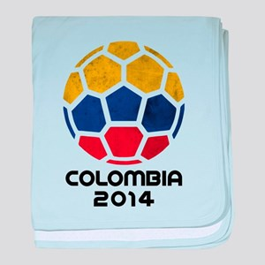 Colombia World Cup 2014 baby blanket