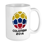 Colombia World Cup 2014 Large Mug