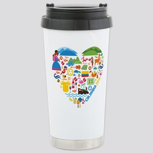 Colombia World Cup 2014 Stainless Steel Travel Mug