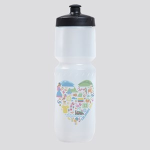 Colombia World Cup 2014 Heart Sports Bottle