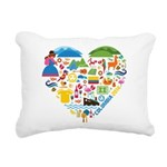 Colombia World Cup 2014 Rectangular Canvas Pillow
