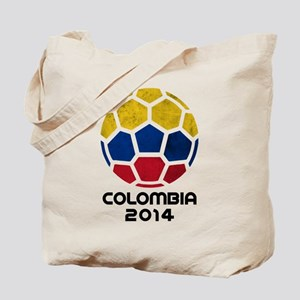 Colombia World Cup 2014 Tote Bag