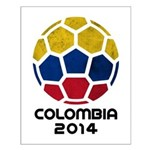 Colombia World Cup 2014 Small Poster