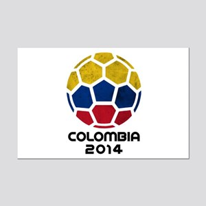 Colombia World Cup 2014 Mini Poster Print