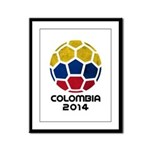 Colombia World Cup 2014 Framed Panel Print