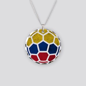 Colombia World Cup 2014 Necklace Circle Charm