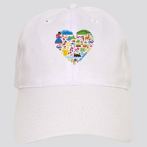 Colombia World Cup 2014 Heart Cap