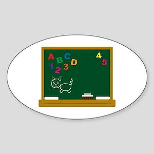 School Chalkboard Sticker