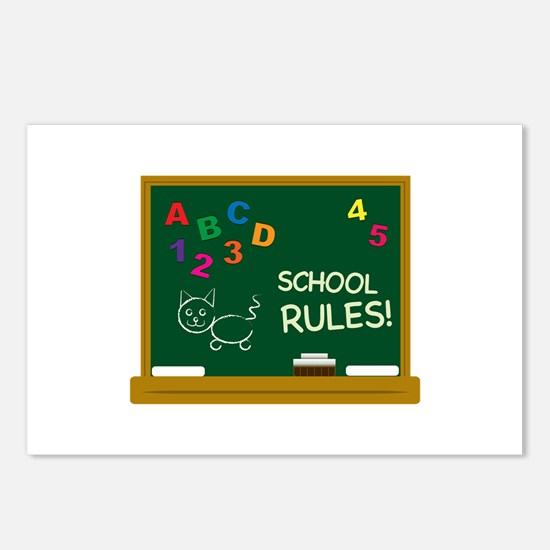 School Rules! Postcards (Package of 8)
