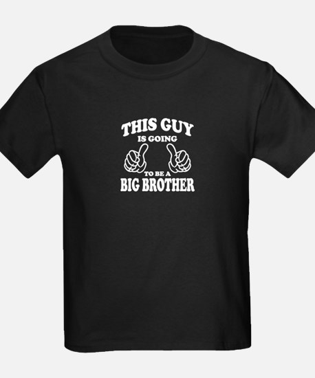 This Guy is going to be a Big Brother T-Shirt