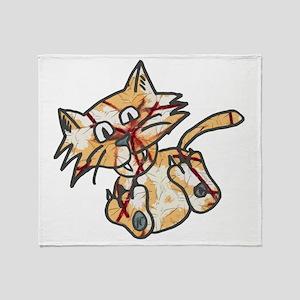 Cats life Throw Blanket