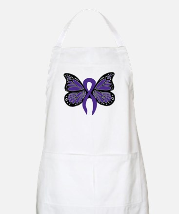 Relay For Life - Purple Ribbo BBQ Apron