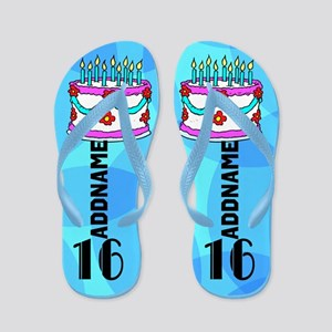 Charming 16th Flip Flops