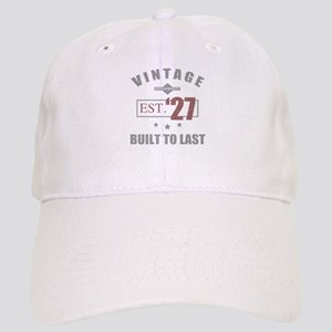 Vintage 1927 Birth Year Cap