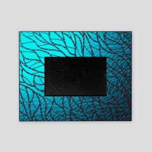 Teal Abstract Picture Frame