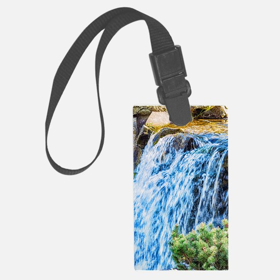 Small Waterfall Luggage Tag