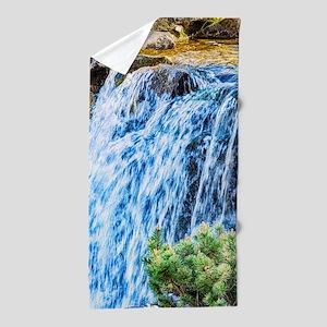 Small Waterfall Beach Towel