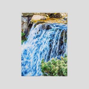 Small Waterfall 5'x7'Area Rug