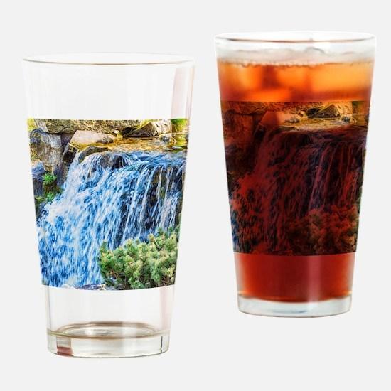 Small Waterfall Drinking Glass