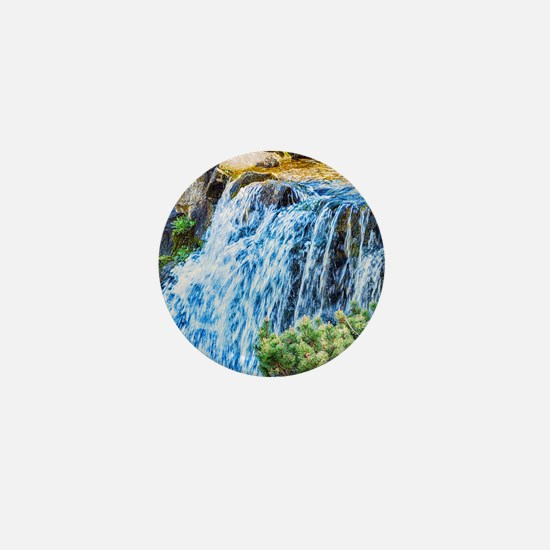 Small Waterfall Mini Button