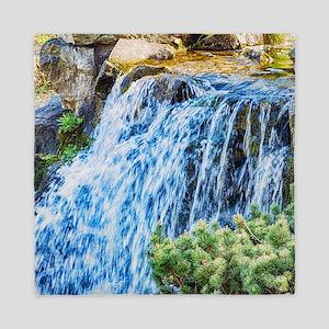 Small Waterfall Queen Duvet