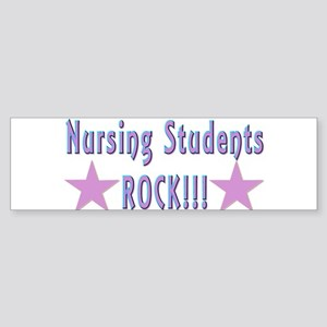 Nursing Students Bumper Sticker