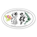 Erin Go, Errr, Broke Oval Sticker Sticker