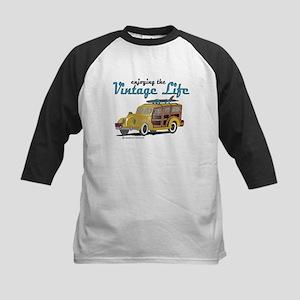 enjoying the vintage life woodie Baseball Jersey