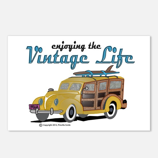 enjoying the vintage life Postcards (Package of 8)