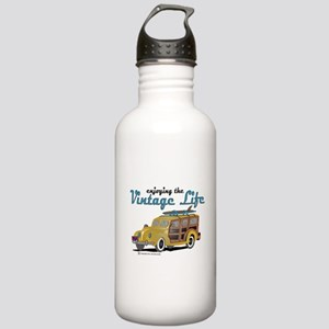 enjoying the vintage l Stainless Water Bottle 1.0L