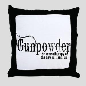gunpowder-1 Throw Pillow