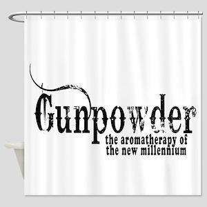 Gunpowder-1 Shower Curtain