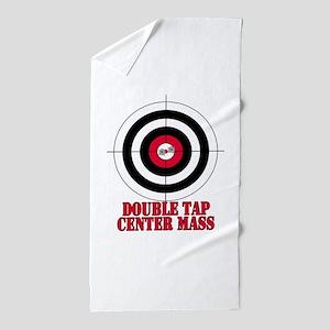 Doubletap-2 Beach Towel
