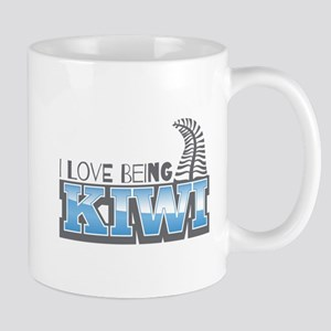 I love being KIWI with silver fern Mugs